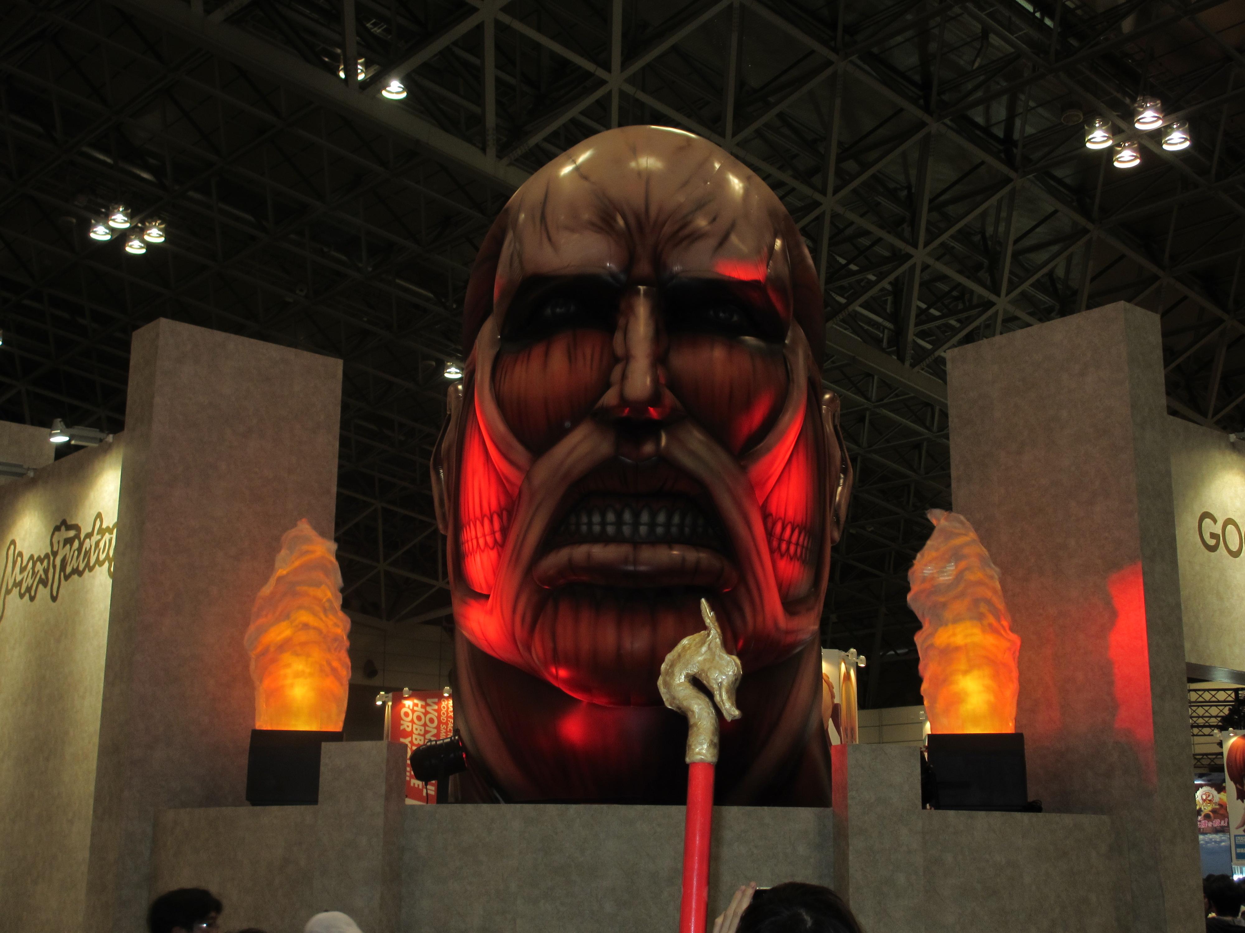 【画像レポート】進撃の巨人 グッスマブース #shingeki ワンフェス2013夏