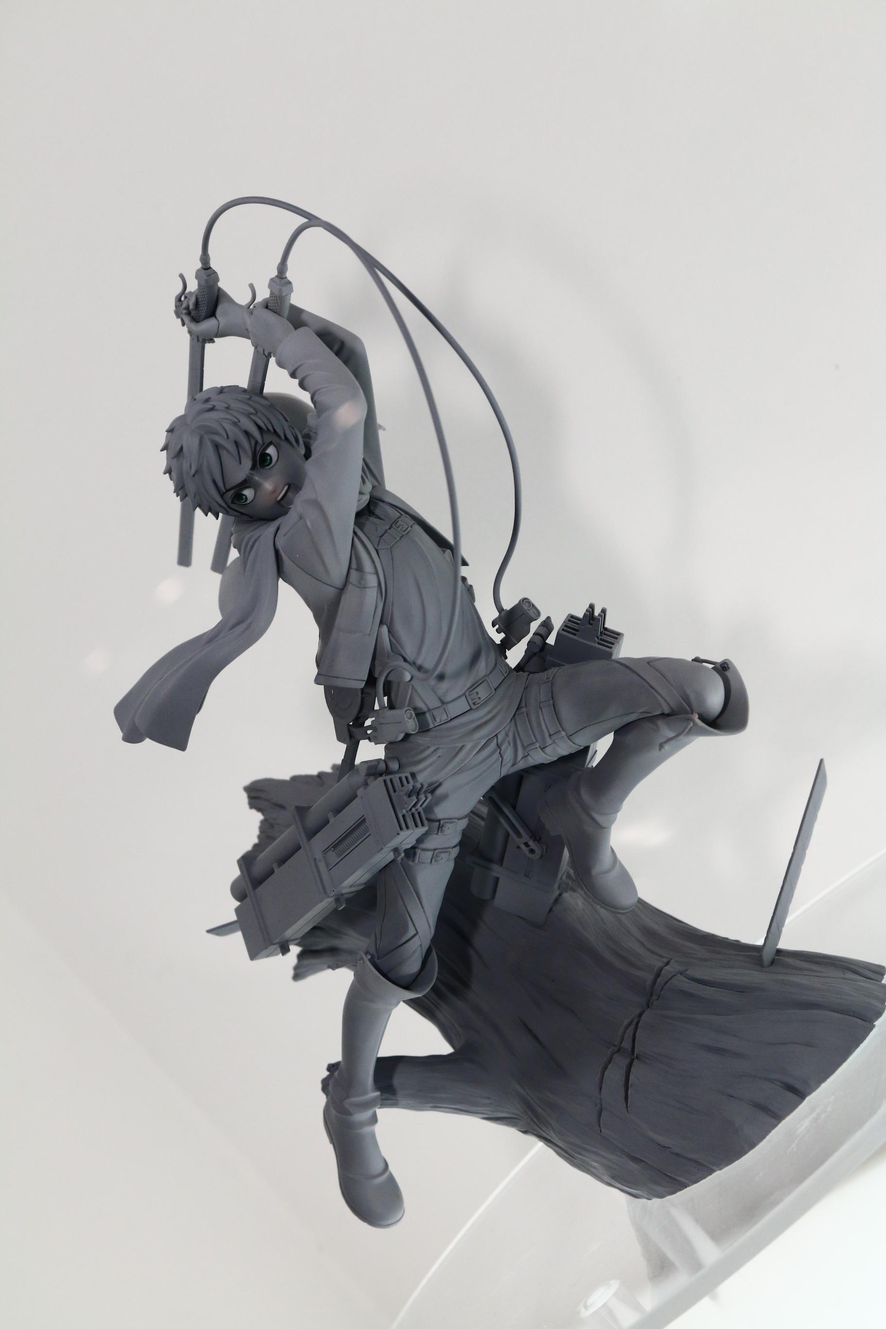 ARTFX J エレン・イェーガー 進撃の巨人 フィギュア新作 コトブキヤ(壽屋) ワンフェス2014冬 画像レポート