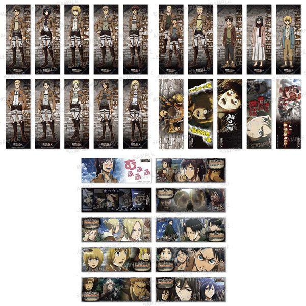 進撃の巨人 ステッカーコレクション 8パック入りBOX(再販)