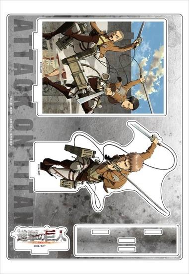 ホビーストック新着!  進撃の巨人 アクリルジオラマ ジャン、コニー、 新作グッズ情報